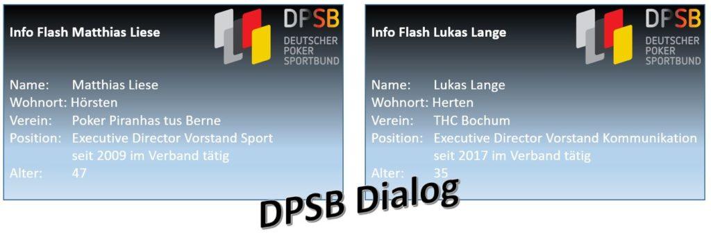 DPSB Dialog Lukas Lange Matthias Liese