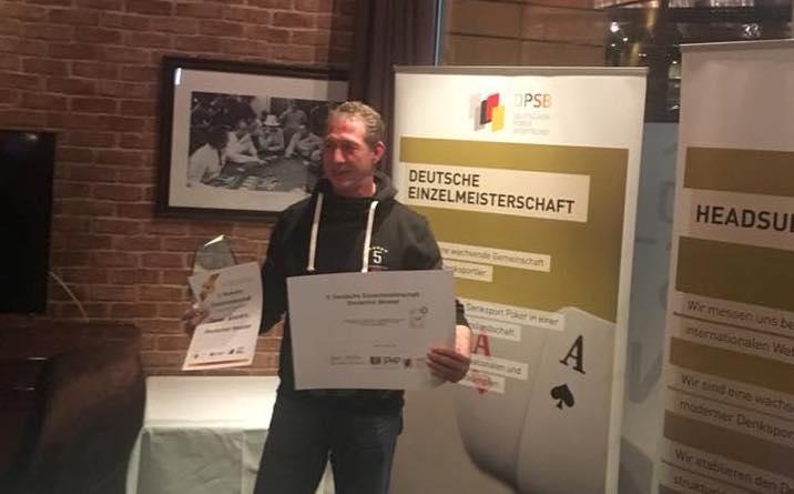Thomas Nowak neuer DPSB Einzelmeister